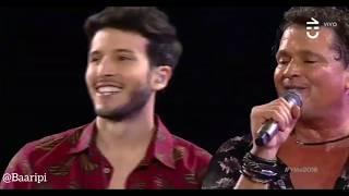 Sebastian Yatra En Festival De Viña Del Mar 2018 Cantando Robarte Un Beso Con Carlos Vives
