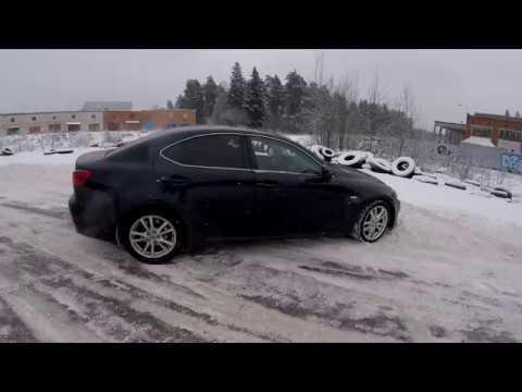 Зимний Дрифт Lexus IS250 | Проверка антибукса, расход, поломки | OtmorozDaily