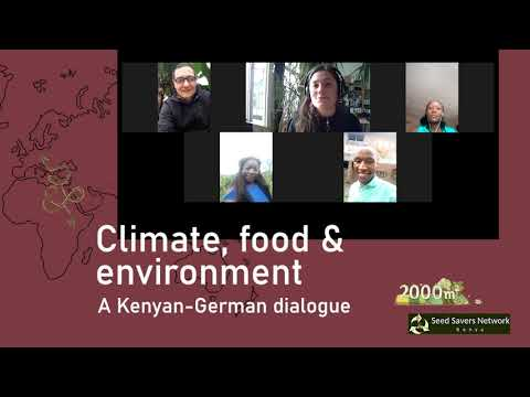 Invitation: Kenyan-German farm, food & climate exchange