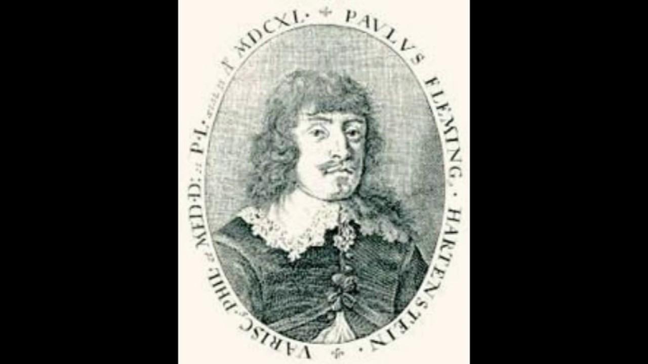Schönste Deutsche Gedichte 1 Dichter Paul Fleming 1609 1640
