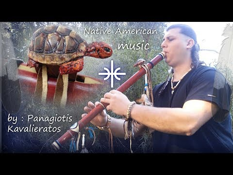 Turtle Native American flute . My new creation