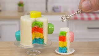 Easy Making Colorful Miniature Cake | Perfect Miniature Cake Design by Tiny Cakes