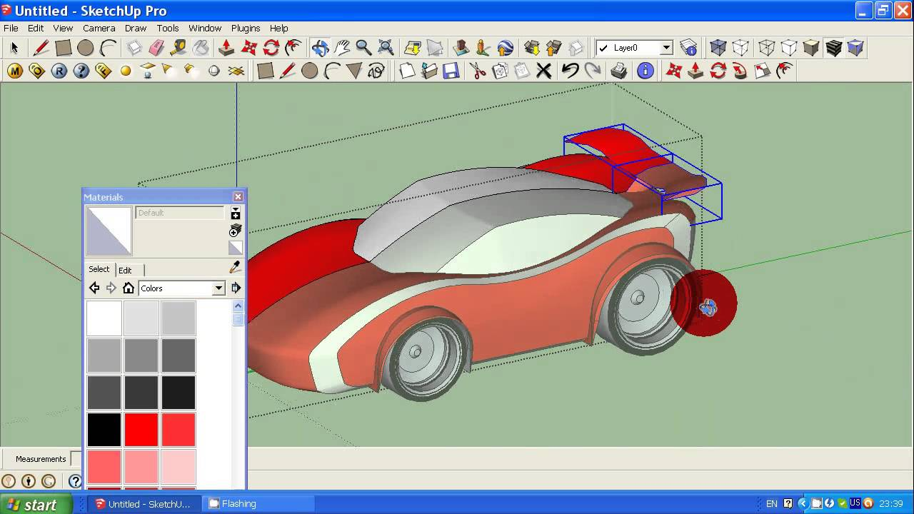 How to make simple car in google sketchup tutorial 2 youtube malvernweather Choice Image