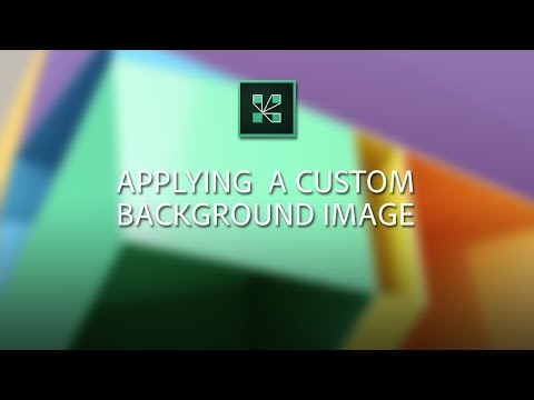 Applying a background image in Adobe Connect
