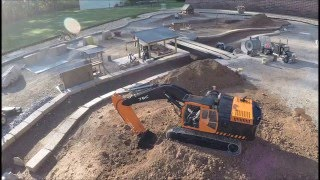 7 Bones RC Construction- RC Heavy Equipment - CAT 330D Excavator - 5 May 2016