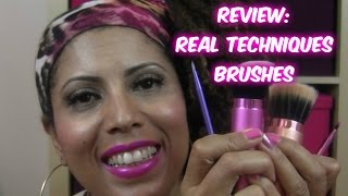 REVIEW/TUTORIAL : Real Techniques Brushes  |  CurlyKimmyStar Thumbnail