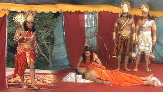 श्री राम के गोद में लक्ष्मण - अब संजीवनी ही बचाएगी प्राण - B R Chopra Hindi Serial - Apni Bhakti