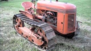 1940 Cletrac HG Crawler Tractor