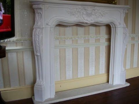 how to build a fireplace surround youtube