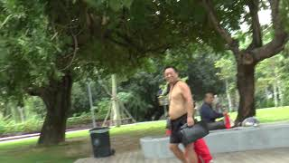 Китай. г.Санья. Парк на б.Дадунхай