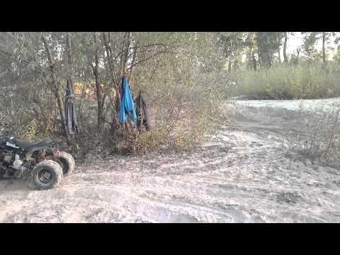 Stels ATV 400 в деле