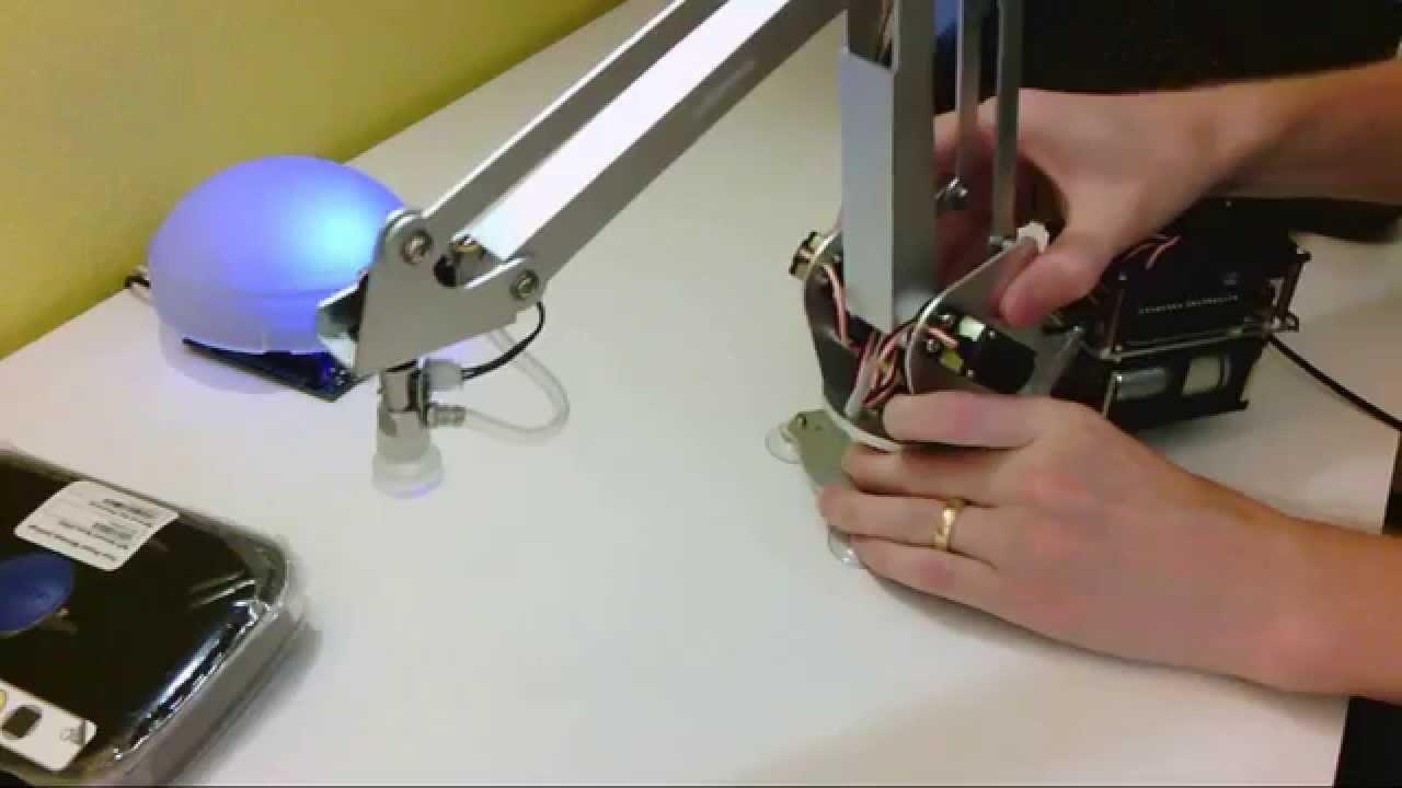 Sparkfun uarm arduino robotic arm unboxing youtube