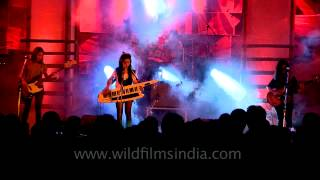 India-based girl rock band: The Vinyl Records