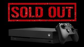 Xbox One X Project Scorpio Edition SELLS OUT at major retailers - Gamescom 2017