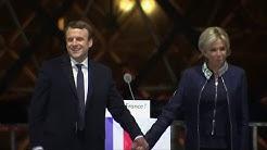 Emmanuel und Brigitte Macron: Das wohl ungewöhnlichste Präsidentenpaar Frankreichs