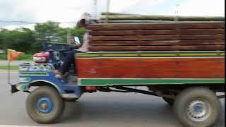 Kubota Thaïlande - Funny mini truck Kubota Thailand