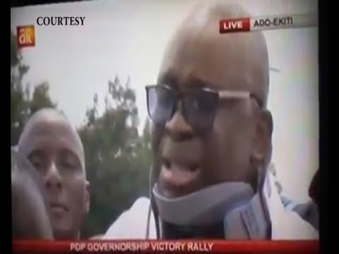 FAYOSE WEEPS! (SCRIPTURE FULFILLED: AND PETER WENT OUT, AND WEPT BITTERLY) LUKE 22(62)