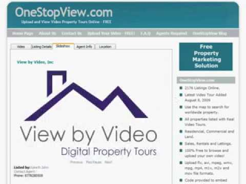 Advertise Property for Sale or Rent FREE at wwwOneStopView