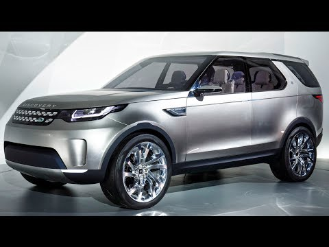 Land Rover Discovery Vision Exterior Suv Land Rover Video