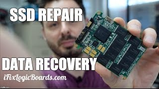 SSD Data recovery - damaged connector