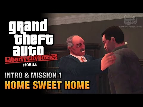 GTA Liberty City Stories Mobile - Intro & Mission #1 - Home Sweet Home