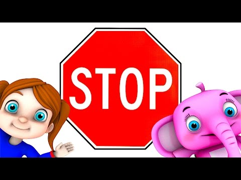 Road Safety Song | Kindergarten Nursery Rhymes & Songs for Kids | Little Treehouse S03E44