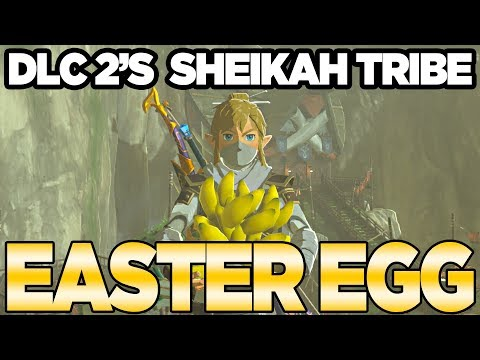 DLC Pack 2s *NEW* Easter Egg with Bananas?!?!?! Zelda Breath of the Wild  Austin John Plays