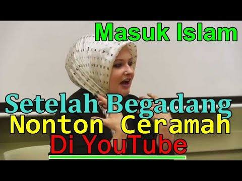 MUALAF AMERIKA CANTIK CERDAS NICOLE,  MASUK ISLAM SETELAH MELIHAT VIDEO DI YOUTUBE
