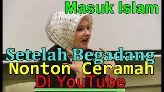 MUALAF AMERIKA 😍 CANTIK CERDAS NICOLE,  MASUK ISLAM SETELAH MELIHAT VIDEO DI YOUTUBE