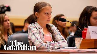 Greta Thunberg testifies t๐ Congress over climate crisis – watch live