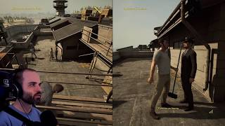 EL RETRETE SALVADOR | A WAY OUT Gameplay Español