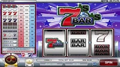 Sevens and Bars ™ free slots machine game preview by Slotozilla.com