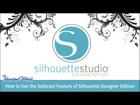 Webinar: Use the Subtract Feature of Silhouette Designer Edition to Create Layered Designs