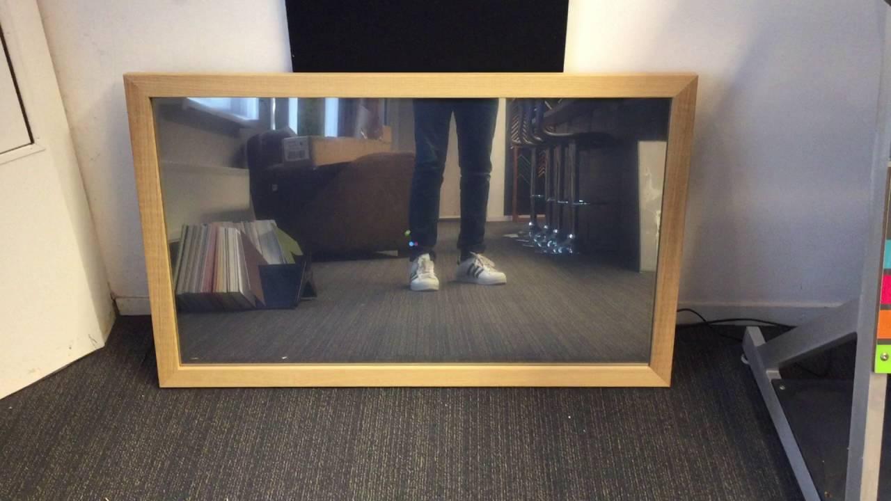 Foto Inlijsten Tips : Tv inlijsten met spiegel youtube