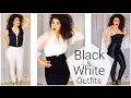 Black and White Outfits | Black and White Fashion