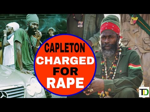 Capleton ARRESTED and CHARGED for R@PE - Teach Dem
