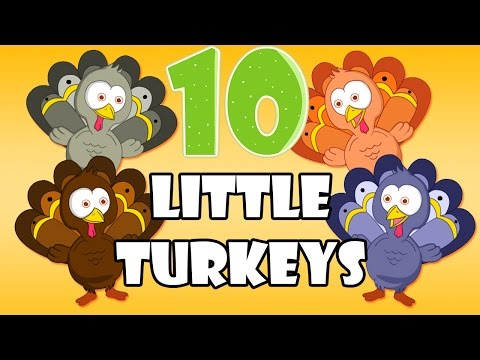 Ten Little Turkeys  Number Counting Song   BaMoo