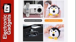 Adorable Mini Projector Turns Your Kid's Room Into A Cinema