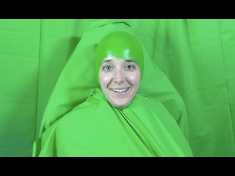 Just Trying To Blend In With My Green Screen
