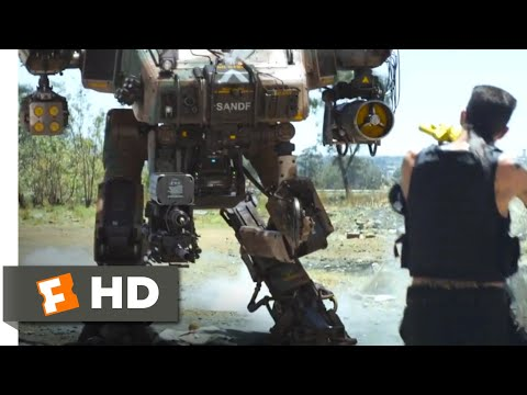 Download Chappie (2015) - Robot Fight Scene (8/10)   Movieclips
