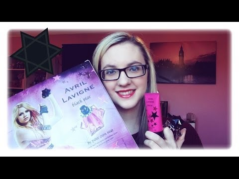 MinnieMollyReviews♡Black Star By Avril Lavigne Perfume Review♡