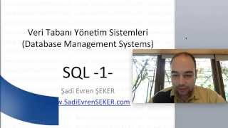 SQL - 1 (data base training Series 3)