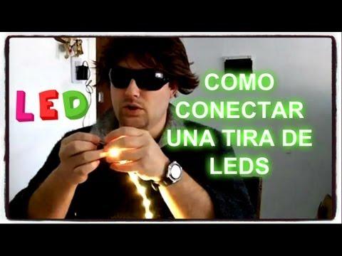 Led tira de luz flexible