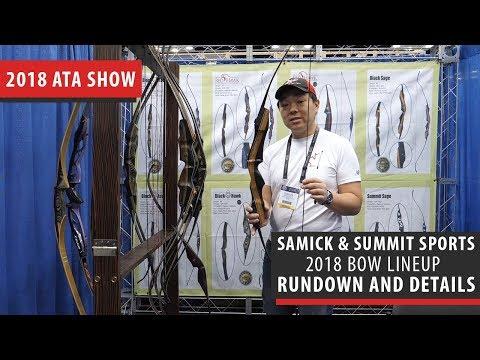 Samick Sports & Summit Sports New 2018 Lineup Of Bows - ATA Show 2018