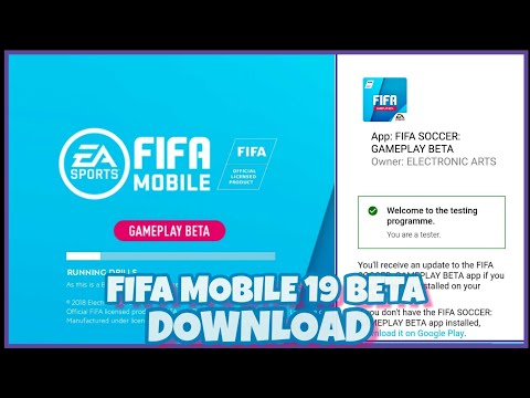 How To Download FIFA MOBILE 19 BETA| ALTERNATIVE METHOD