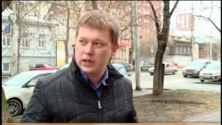 Автохам в Екатеринбурге заблокировал маш...