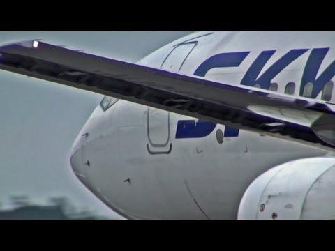 爆近離陸!! JA737N Skymark Airlines スカイマーク 茨城空港