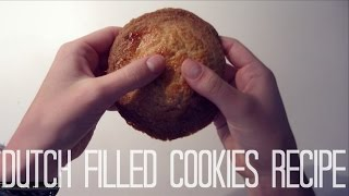 Typical Dutch filled cookies recipe