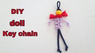 DIY doll key chain /DIY doll/Easy handmade key chain/Best DIY