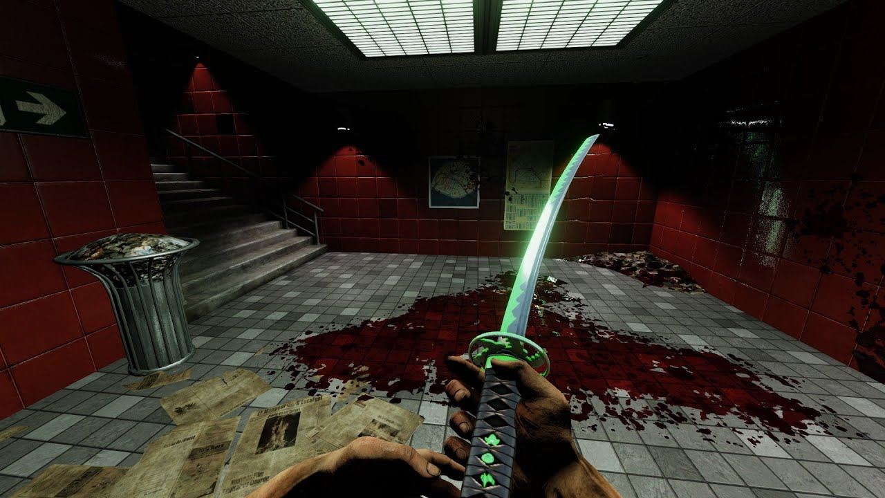 [Killing Floor 2] AFarCryAwayu0027s Genji Inspired Katana Skin Preview